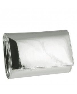 Rainbow Club Envelope Clutch Dafnee Silver-Mirror