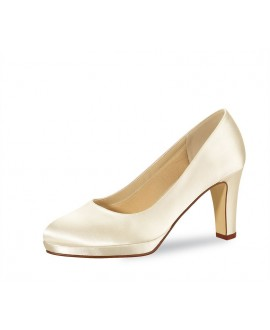 Rainbow Club Wedding shoe Grace White