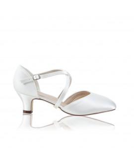 The Perfect Bridal Company Wedding Shoes Renate Satin