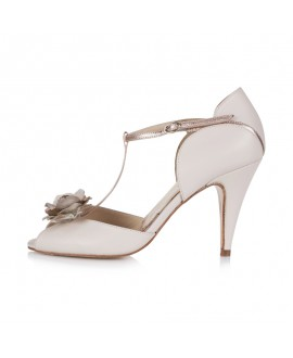 Rachel Simpson Wedding Shoes Gabriella Blush
