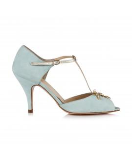 Rachel Simpson Wedding Shoes Amalia Mint