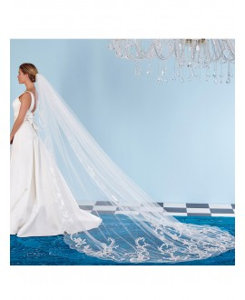 Poirier Veil with luxury decoration S136-300/1/MED