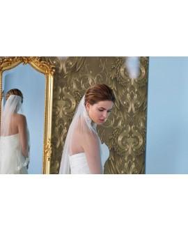 Veil with lace S145-075/1/SOFT| Poirier