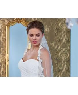 Veil with lace S145-120/1/SOFT| Poirier