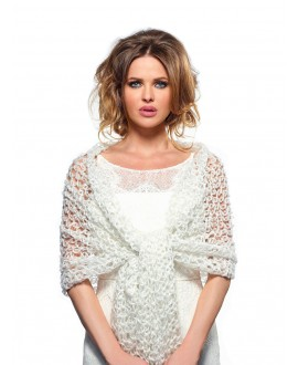 Knitted Bridal Stole S169 Poirier