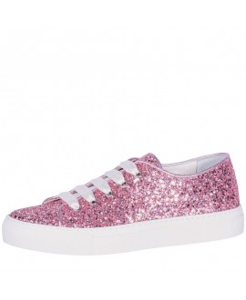 Fiarucci Bridal Wedding Shoes Sneaker Suzan Rose Glitter