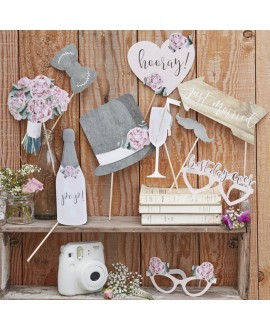 Photo Booth Props - Rustic Country (10pcs)
