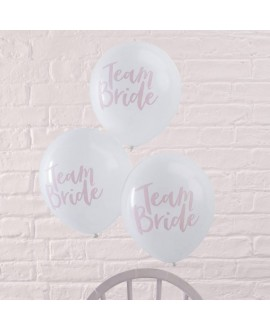 Just Married Balloons  BH-717 | Team Bride