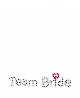 Team Bride Shoe Sticker