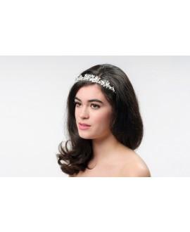 Poirier Bridal Tiara BB-7138 Silver