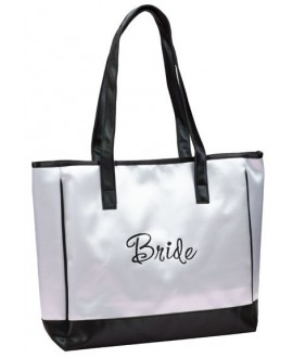 Lillian Rose Bride White Medium Travel Bag