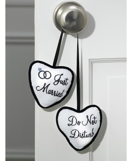 Just Married / Do Not Disturb Door Hanger