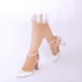 Paradox London Pink Wedding shoe Celina