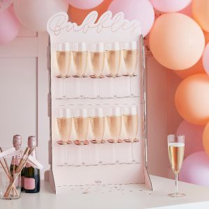 Ginger Ray HN-815 Blush Hen Prosecco Wall