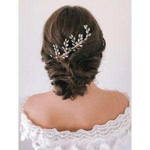 Abrazi H2-NV Opal Bridal Hair Comb