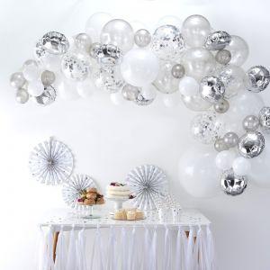 Silver Balloon Arch Kit BA-302 | Ginger Ray