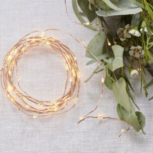 Ginger Ray BB-298 Copper String Fairy Lights