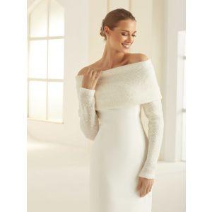 Bianco Evento E290 Wool Shrug