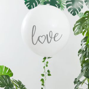 Ginger Ray BS-411 Botanical Hen Love Balloon
