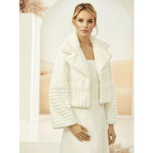 Bianco Evento E314 Faux Fur Jacket
