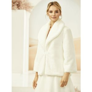 Bianco Evento E315 Faux Fur Jacket