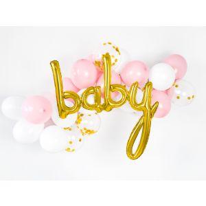 Foil Balloon Baby Gold