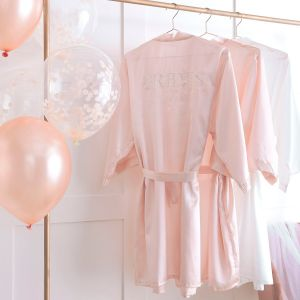 Ginger Ray HN-829 Blush Hen Pink Dressing Gown