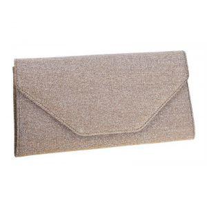 Rainbow Club Envelope Clutch Saskia Gold-Metallic