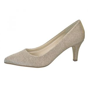Rainbow Club Brooke Gold Bridal Shoes