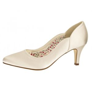Rainbow Club Butterscotch Bridal Shoes