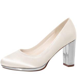 Rainbow Club Clair Silver Bridal Shoes