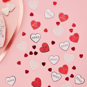 Ginger Ray VA-901 Be My Valentine Confetti Hearts