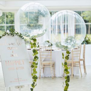 Ginger Ray BR-373 Botanical Wedding Orb Balloon