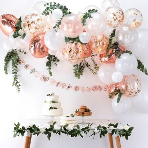 Ginger Ray BA-305 Balloon Arch Kit Rose Gold