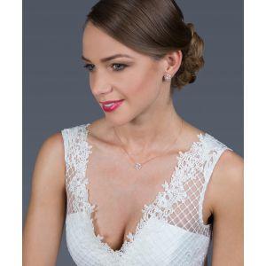 G. Westerleigh DZ0290RG Bridal Jewellery Set