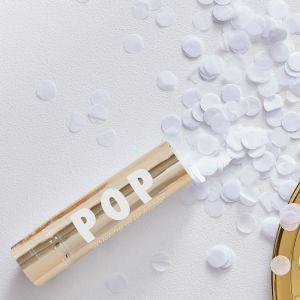 Confetti cannon gold GO-179 - Gold Wedding