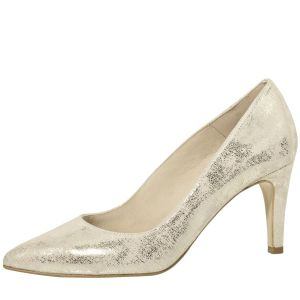Fiarucci Bridal Katya Champagne Bridal Shoes