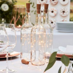 Ginger Ray BR-363 Botanical Wedding Bottle LED Lights