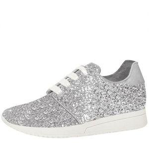 Fiarucci Bridal Lizzi Silver Glitter Bridal Shoes