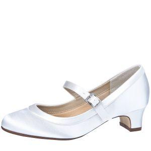 Rainbow Club Maisie White Communion Shoes