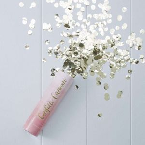 Pink Ombre Compressed Air Confetti Cannon Popper - Pick And Mix