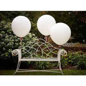 Ginger Ray AF-646 Vintage Affair Huge White Balloons