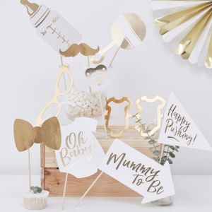 Ginger Ray OB-122 Baby Shower Photo Booth Props