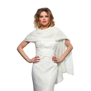 Poirier S168 Knitted Bridal Stole
