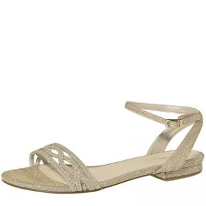 Rainbow Club Faye-Gold Metallic Bridal Shoes