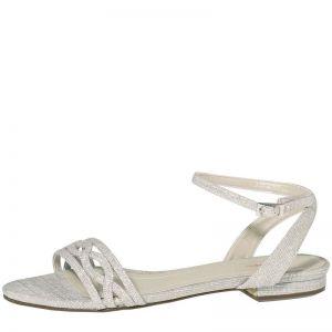 Rainbow Club Faye-Silver Metallic Bridal Shoes