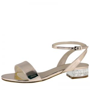 Rainbow Club Whitny Rose-Gold Wedding Shoes