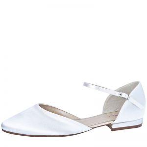 Rainbow Club Cameron White Bridal Shoes