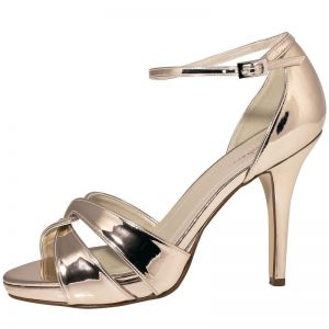 Rainbow Club Cate Rose Gold Bridal Shoes