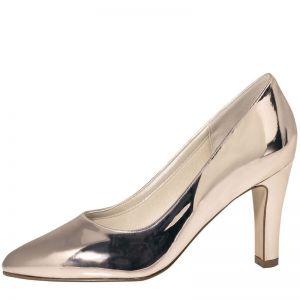 Rainbow Club Mandy Rose-Gold Wedding Shoes